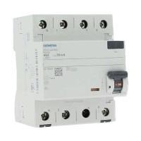 SIEMENS Interrupteur différentiel tétrapolaire 40A type A 30mA