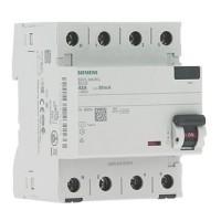 SIEMENS Interrupteur différentiel tétrapolaire 63A 30mA type A 4 modules 400V