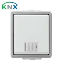 SIEMENS KNX Bouton poussoir simple lumineux en saillie IP44