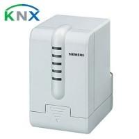 SIEMENS KNX Servomoteur de vanne avec LED d'état pour chauffage central