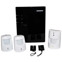 SIEMENS Pack sécurité image - Centrale + 3 détecteurs dont 1 caméra + 2 télécommandes