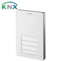 Siemens Appareil d'ambiance saillie KNX blanc avec sonde de température et touches configurables