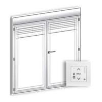 SOMFY IO Kit de modernisation radio S&So RS100 pour bloc porte-fenêtre avec moteur
