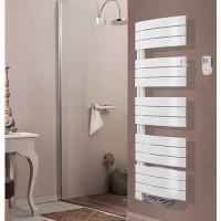 THERMOR Allure digital Sèche-serviettes pivotant à gauche avec soufflerie  Blanc satin 1750W  - 490561