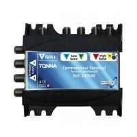TONNA Commutateur matriciel 1 entrée SAT + 4 sorties TV