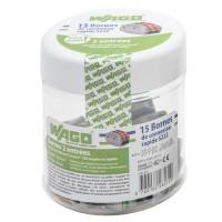 WAGO 15 bornes automatiques fils souples et rigides 2x2.5²
