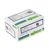 WAGO S222 50 bornes de connexion automatique 3 fils