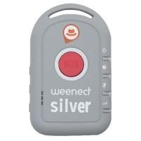 WEENECT SILVER Balise GPS avec carte SIM intégrée pour personnes agées