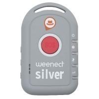 WEENECT SILVER Balise GPS avec carte SIM intégrée pour personnes âgées