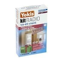 YOKIS Power Kit radio variateur va et vient 1 télévariateur et 2 émetteurs radio - KITRADIOVVP