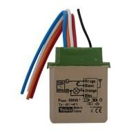 YOKIS Télévariateur 2.2A 500VA micro-module encastré - MTV500ER  / 5454454