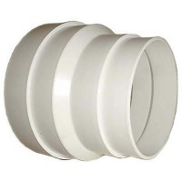 DMO Réduction conique en PVC de 80mm à100mm