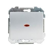 SIEMENS Delta Iris Mécanisme interrupteur va et vient lumineux - Silver