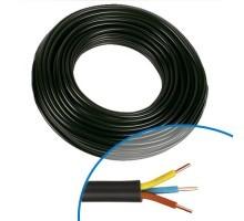 Câble électrique RO2V 3G 1.5 - Couronne de 50m