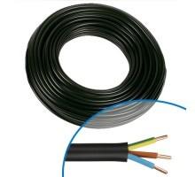 Câble électrique RO2V 3G 2.5² - Couronne de 50m