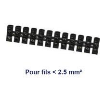 Barrette dominos de connexion 2.5mm²