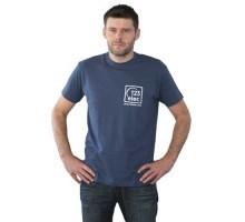Tee-Shirt 123elec Bleu denim Taille M