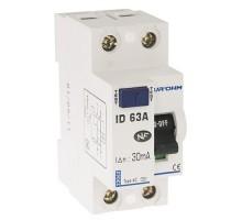EUROHM Interrupteur différentiel 63A 30mA type AC 2P