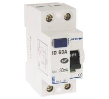 EUROHM Interrupteur différentiel 63A 30mA type A 2P