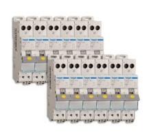 HAGER Lot de 12 disjoncteurs électriques AUTO 16A - MFS716