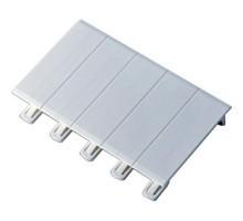 LEGRAND Ekinoxe Obturateur blanc 5 modules pour coffret