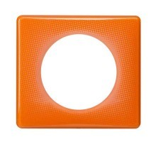 LEGRAND Céliane Plaque Memories 1 poste 70's orange - 066651