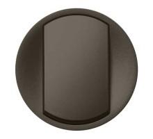 LEGRAND Céliane Enjoliveur graphite va et vient / poussoir doigt large - 067901