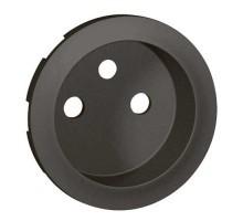 LEGRAND Céliane Enjoliveur graphite prise 2P+T - 067912