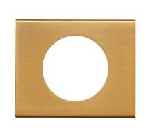 LEGRAND Céliane Plaque Matières 1 poste Bronze doré - 069131