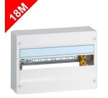 LEGRAND Drivia Tableau électrique 18 modules nu 1 rangée