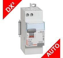 LEGRAND DX3 AUTO Interrupteur différentiel 63A 30mA Type AC 2M - 411650