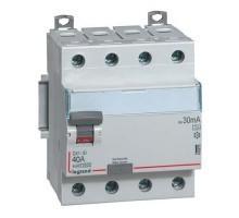 LEGRAND DX3 Interrupteur différentiel 4P 40A Type A 30mA - 411675