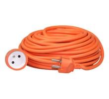 Prolongateur électrique HO5VVF orange 3G1.5 - 25m