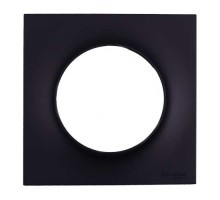 SCHNEIDER Odace Plaque simple anthracite - S540702
