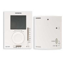 Thermostat d 39 ambiance analogique non programmable siemens - Thermostat programmable sans fil ...