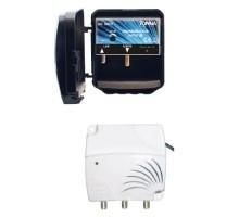 TONNA Kit amplificateur de mât 4G 1 entrée et alimentation 2 sorties