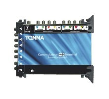 TONNA Commutateur 2 satellites + TNT 8 sorties TV