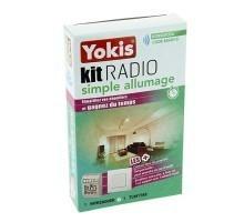 YOKIS Kit radio simple allumage 1 télérupteur et 1 télécommande murale - KITRADIOSA 5454510