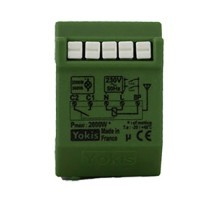 YOKIS Télérupteur 10A 500VA silencieux radio micro-module encastré - MTR2000ER  / 5454451