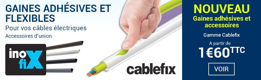 Gaines adhésives Cablefix