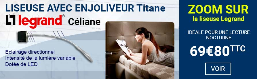 Liseuse Legrand Céliane