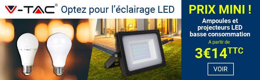 Ampoule LED et projecteur V-TAC