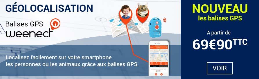 Balises GPS Weenect