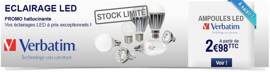 Ampoules LED Verbatim