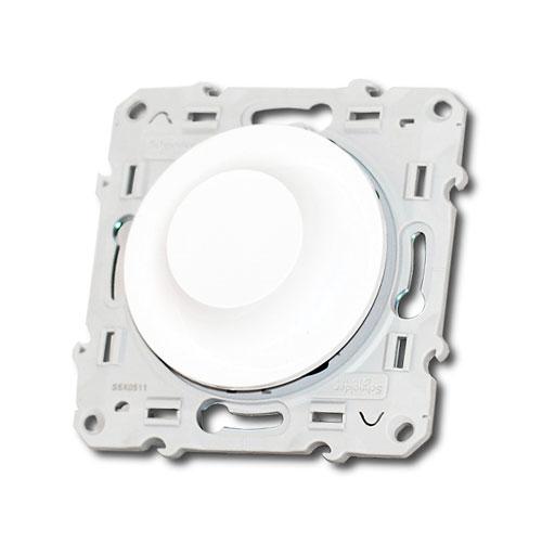 Interrupteur variateur rotatif 600W Schneider Odace