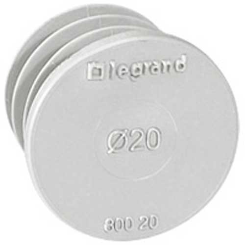 Obturateur Legrand Ecobatibox de 20 mm de diamètre