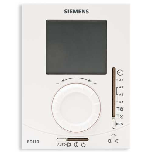 Thermostat d'ambiance digital programmable journalier Siemens